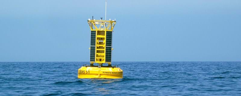 Advanced autonomous buoy launched from Turnchapel Wharf | News